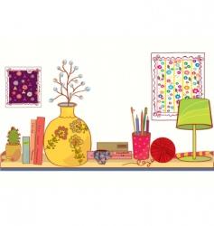 Shelf vector