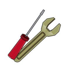 support repair tools concept help symbol vector image