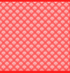 classic japanese squama seamless pattern for vector image