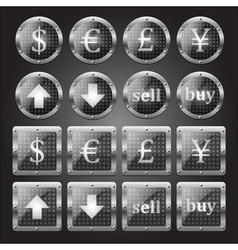 forex signs vector image