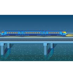 night express train vector image