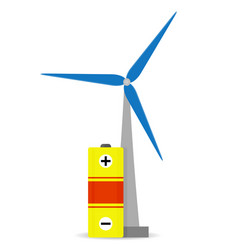 Accumulation wind energy vector