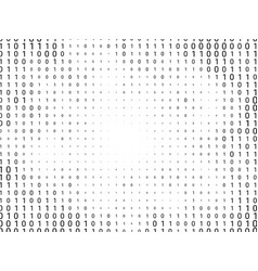binary computer code background vector image