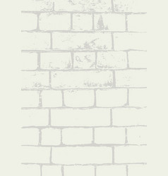 brick wall texture background for designs vector image