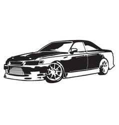 Car mark 2 vector