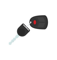 car rent concept key flat icon vector image