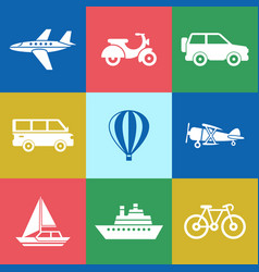 Digital red green blue travel vector