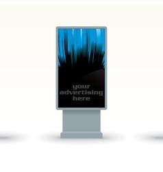 digital screen vector image