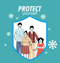 Family safely protected from virus vector