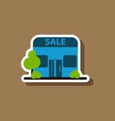 Fashion patch sale sticker shop sale vector