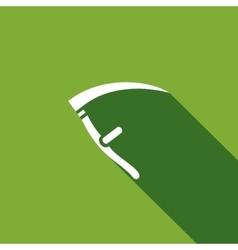 Scythe icon vector image
