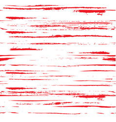 seamless endless textured background from red ink vector image