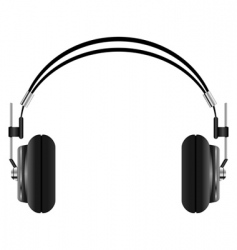headphones set vector image vector image