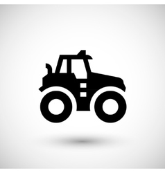Agricultural tractor icon vector image vector image