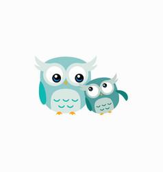 cute owl design vector image