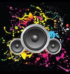 grunge sound vector image vector image