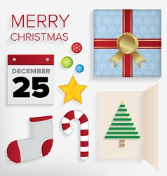 Merry Christmas Pack vector image vector image