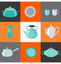 Kitchen Utensils Kitchen Equipment Household vector image