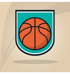 Basketball icon design vector