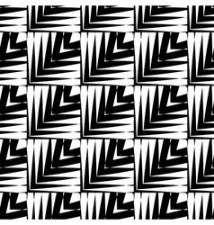Design seamless striped pattern vector