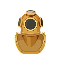 Diving helmet rigid head enclosure with breathing vector