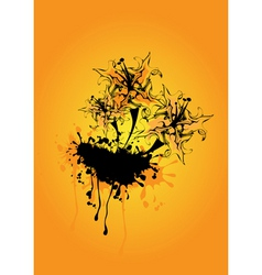 funky abstract vector image