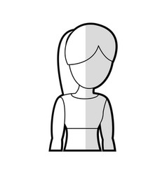 Mother female parent portrait vector