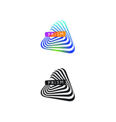 Prism logo vector