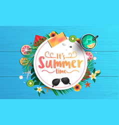 summer background design 2019 5 vector image