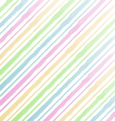 Watercolor stripes background vector