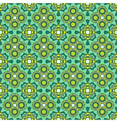 seamless ornate geometric pattern abstract backgro vector image