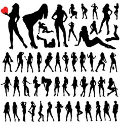 sexy woman vector image vector image