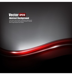 Abstract background dark red and grey with curve vector