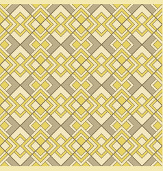 Abstract geometric pattern with lines vector