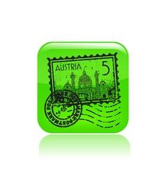 austria icon vector image