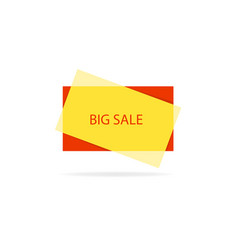 banner of great sale vector image