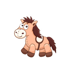 cartoon stuffed toy vector image