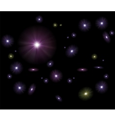 Galaxy Stars Background vector