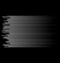 speed lines background vector image