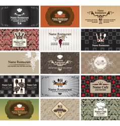 Food and beverages vector