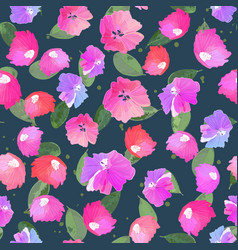 abstract seamless pattern with isolated colorful vector image