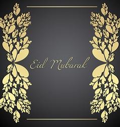 Eid mubarak design vector