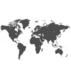 map world vector image