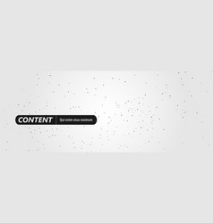 minimalistic horizontal polygonal background vector image