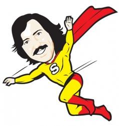 super dad vector image