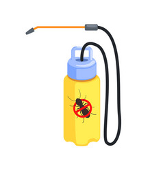 Yellow pressure sprayer for destruction of vector