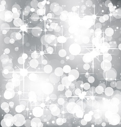 Blurred Christmas Background vector image vector image