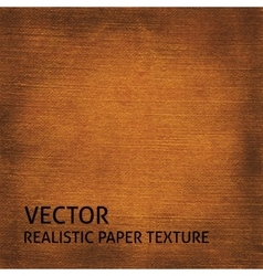 Brown textured paper background vector