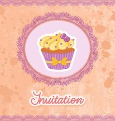 Invitation vector image