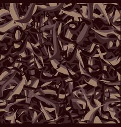 Seamless texture of black tea assam vector